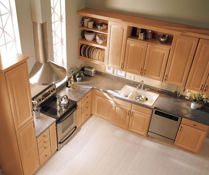 Harmonious Kitchen Paint Colors With Maple Cabinets: Kitchen & Bathroom Design Center