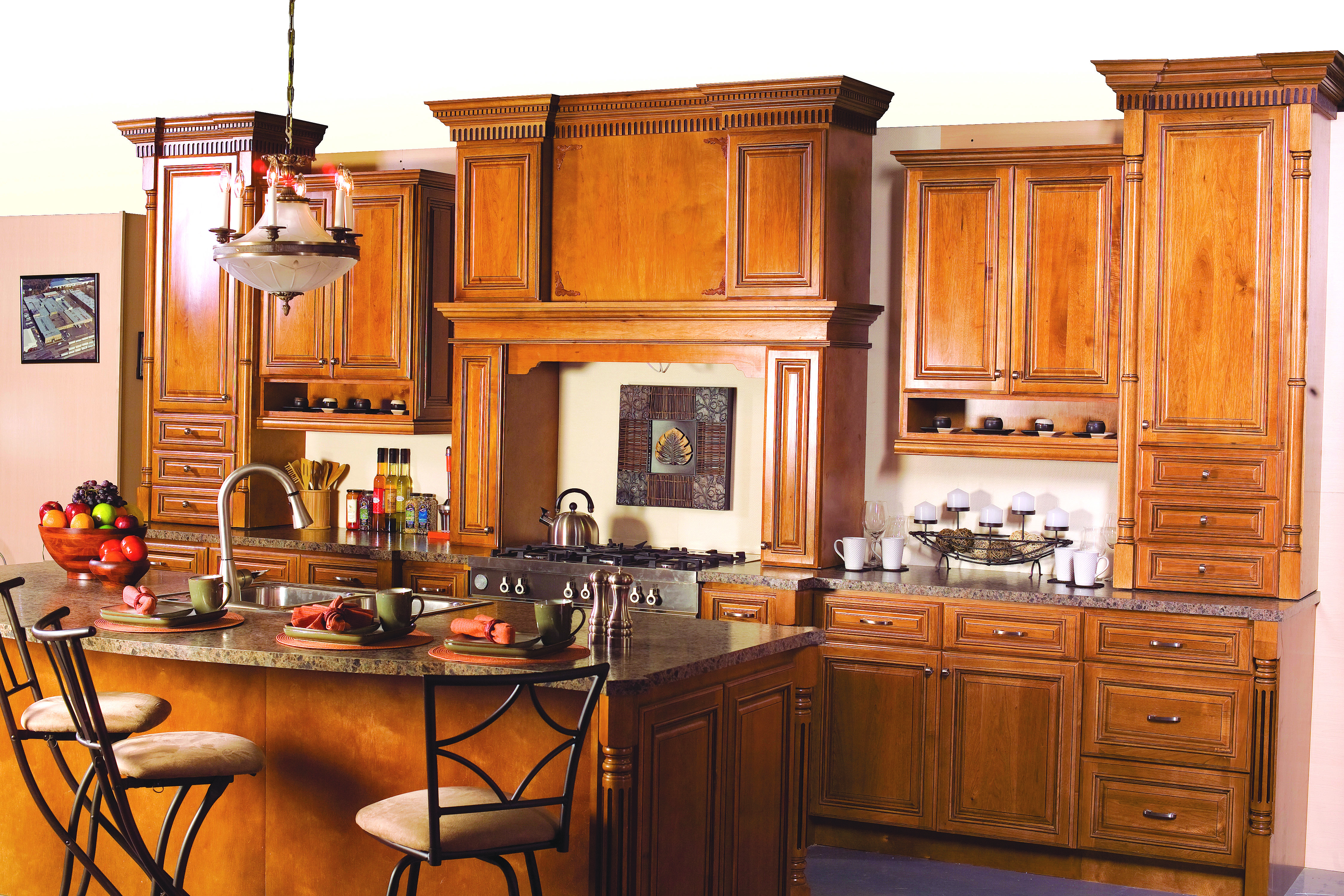 Cnc bristol kitchen cabinets bristol chocolate kitchen for Bristol chocolate kitchen cabinets