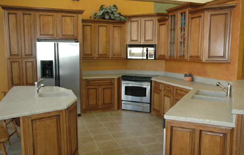 Modern kitchen cabinets quot photo gallery pictures for Birch wood kitchen cabinets