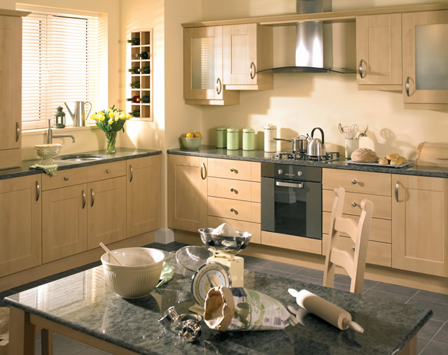 Image Result For Modern Cherry Wood Kitchen Cabinets