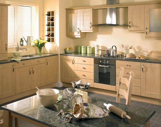 Kitchens birch cabinets newhairstylesformen kitchens for Birch kitchen cabinets