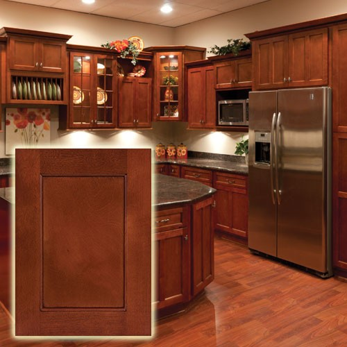 shaker cherry wood kitchen cabinets foto artis candydoll
