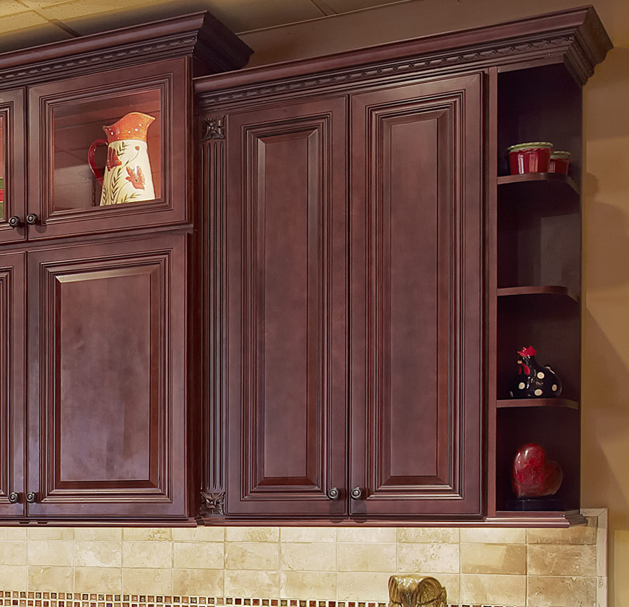 Kitchen Image Kitchen Bathroom Design Center - Cherry vs maple kitchen cabinets