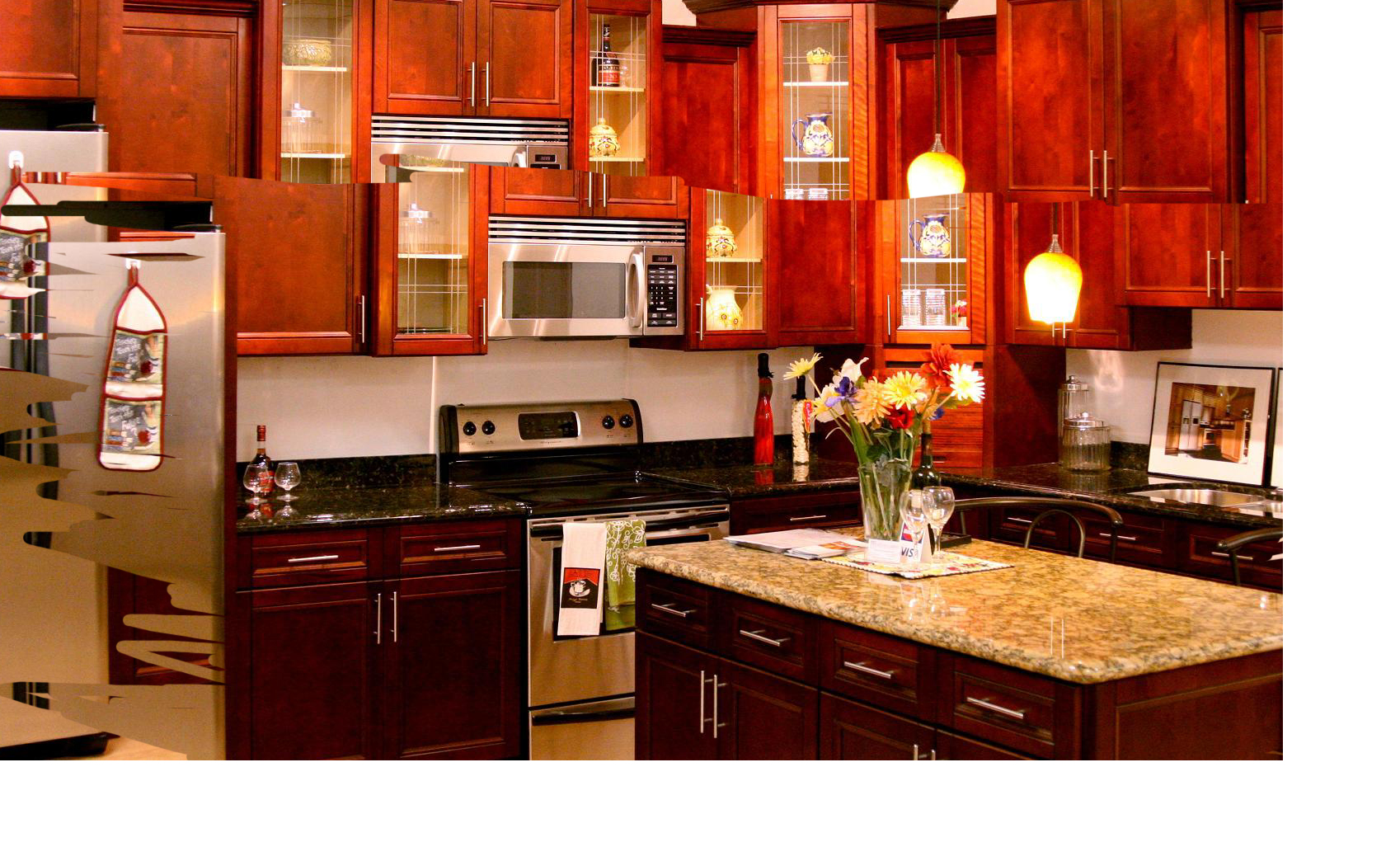 Uncategorized Kitchen & Bath Design Center cherry cabinet kitchen image bathroom design center