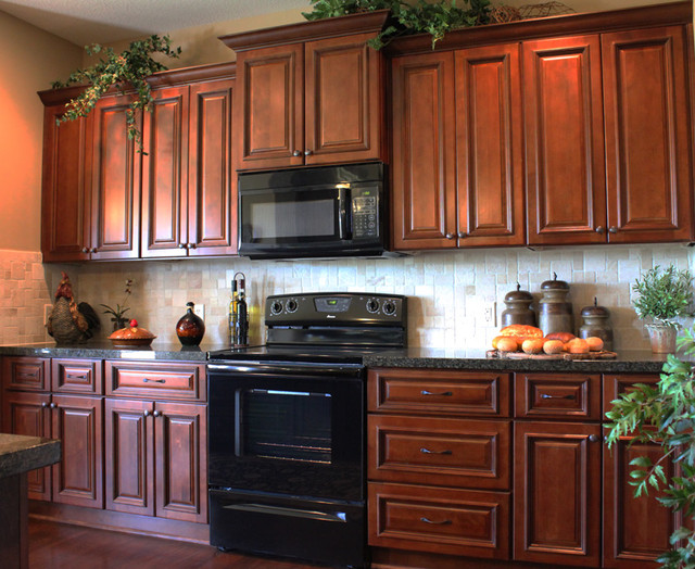 creme maple glaze dark maple dark maple kitchen eclectic kitchen