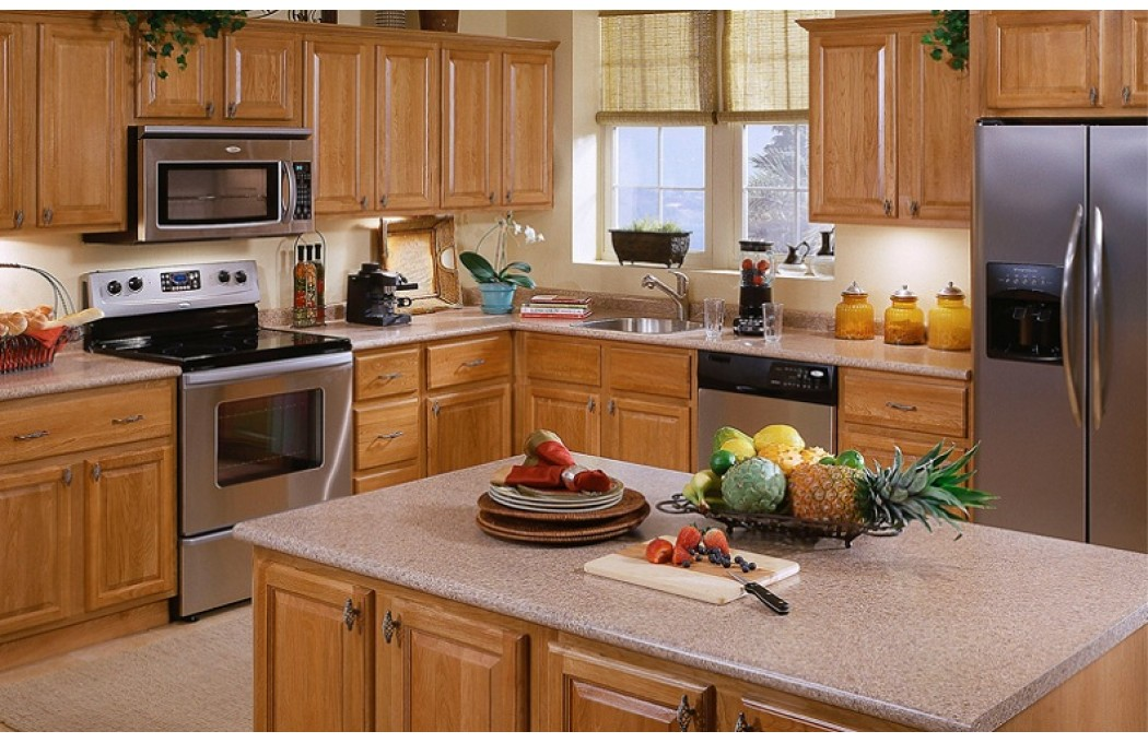 Oak Kitche Sawn Oak Kitchen Cabinets Seville Oak Light Solid Wood Oak