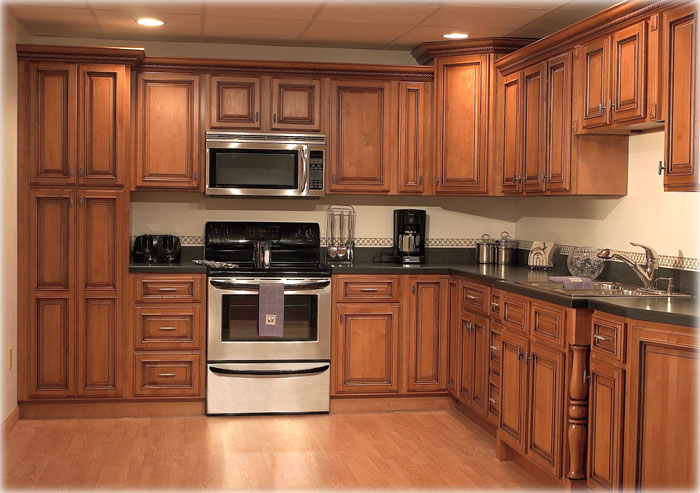 Kitchen Design Ideas With Oak Cabinets kitchen image - kitchen & bathroom design center