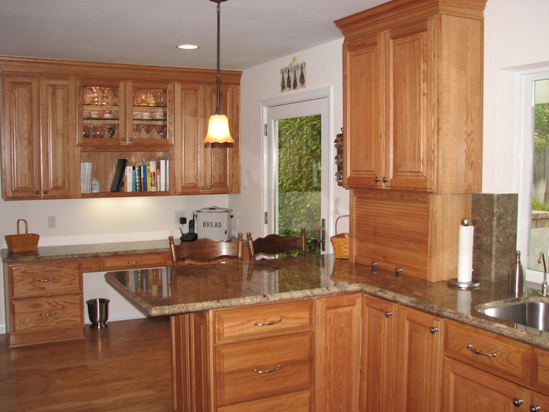 How To Paint Unfinished Kitchen Cabinet